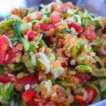 Sałatka z ogórków po meksykańsku